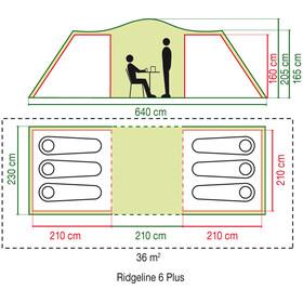 Coleman Ridgeline 6 Plus Teltta